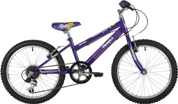 "Freespirit Trouble 20"" Junior Girls Mountain Bike"